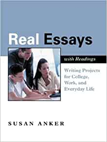 Real essays with readings anker