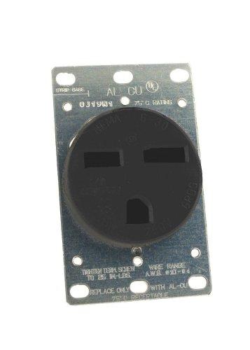 Flush 250v Mount (Leviton 061-05372-000 Power Receptacle 30 Amp 250 Volt Flush Mount)