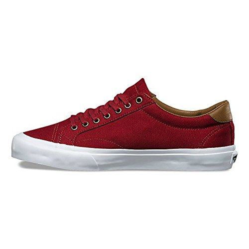 VANS Court C&L Mens Size 9 Red Dahlia True White Fashion Skateboarding Shoes KzUJHfin