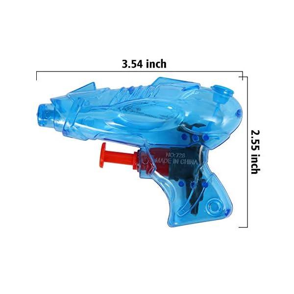 ThinkMax 12 Pezzi Mini Pistola ad Acqua per Bambini 4 spesavip