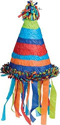 Birthday Hat Pinata with Pull-string Kit