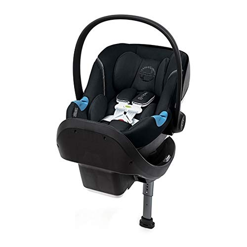 Cybex Aton M Infant Car Seat with SensorSafe, Denim Blue