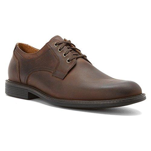 johnston-murphy-mens-cardell-plain-toe-oxford-brown-oiled-waterproof-calfskin-11-m-us