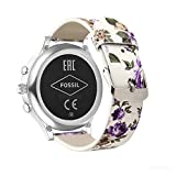 YOOSIDE for Fossil Q Venture Watch Band, 18mm Quick Release Leather Watch Band Strap for Fossil Q Venture Gen 3/Gen 4/HR Gen 4,Fossil Women's Gen 4 Sport (Purple-Flower)
