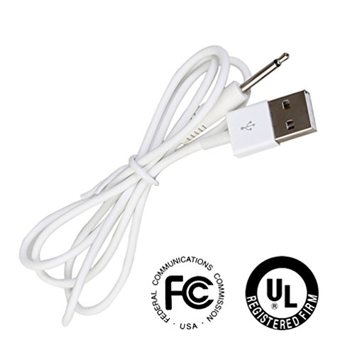 Replacement DC Charging Cable for Rechargeable Sex Toys, Vibrators, Massagers .25mm