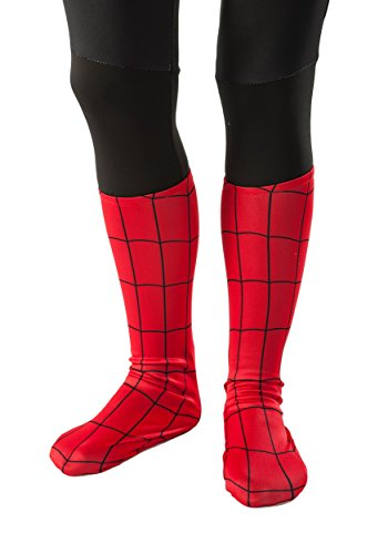 Rubie's Ultimate Spiderman Child Sock Style Boot Covers - Red Spider Man Costumes