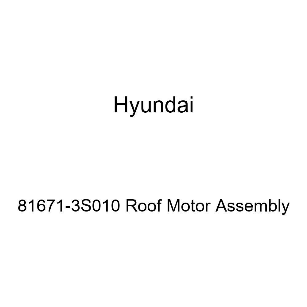 Genuine Hyundai 81671-3S010 Roof Motor Assembly