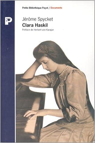 Livres gratuits en ligne Clara Haskil pdf, epub