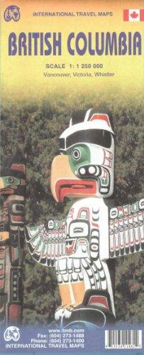 British Columbia 1:1,250,000 ITM 2012*** (International Travel Maps)