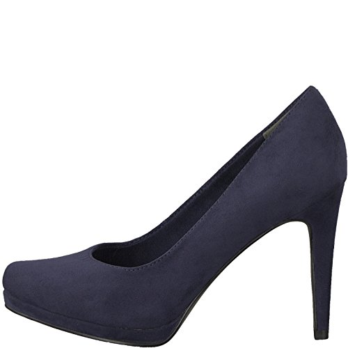Tamaris Women's Closed Navy 1GAmQRFq