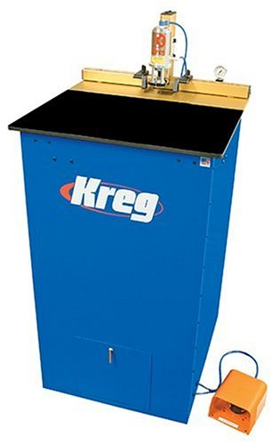 Kreg DK1100 FP 1-1/4 Horsepower Floor Pnuematic Fully-Automatic Single Spindle Pocket Machine For Sale