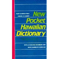 Pukui: New Pocket Haw'n Dictionary