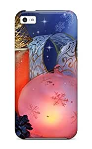 TYHde Iphone 5/5s Case Cover - Slim Fit Tpu Protector Shock Absorbent Case (christmas Beautiful Picture) ending
