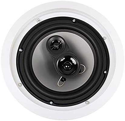 Acoustic Audio CS-IC83 in Ceiling 8 Home Theater 7 Speaker Set 3 Way 2450 Watt CS-IC83-7S