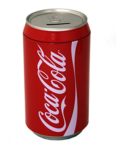 (The Tin Box Company Coca Cola Can Bank)