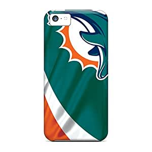 High Quality Mobile Cases For Iphone 5c With Support Your Personal Customized High Resolution Miami Dolphins Image IanJoeyPatricia