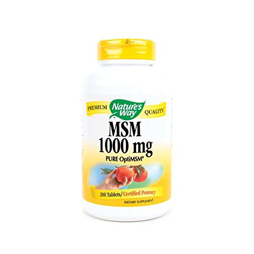 Nature'S Way Msm - 1000 Mg - 200 Tablets ()