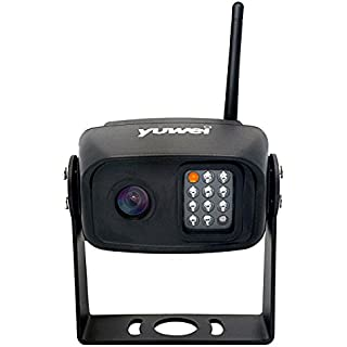 Sale Off Wireless Backup Camera with Night Vision High Definition CCD Imaging Truck Car IP69 Waterproof Reverse Parking Camera for Yuwei YW-17211 & YW-15111