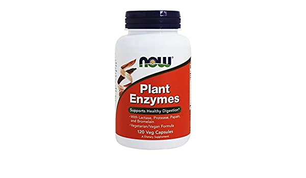 Now Foods, Plant Enzymes, 120 Count