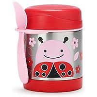 Skip Hop Zoo Insulated Stainless Steel Food Jar, Ladybug