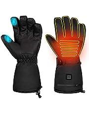 BESPORTBLE Een paar verwarmde winterhandschoenen, 3 standen, handwarmer, touchscreen, thermische handschoenen voor fietsen, skiën, jagen, mannen en vrouwen, maat XL