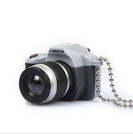 philna12 novedad LED Mini encanto cámara Gadgets llavero