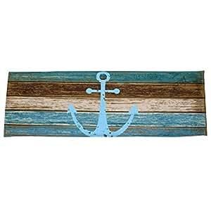 prelikes 40x 120cm antideslizante Felpudo alfombra de suelo ancla de Creative baño alfombra, poliéster, 6#, 40cm x 120cm