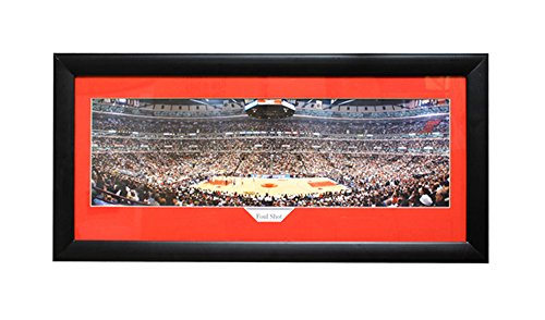 Encore Select 322-05 NBA Chicago Bulls Panoramic Framed Sports Memorabilia, 15-Inch by 35-Inch