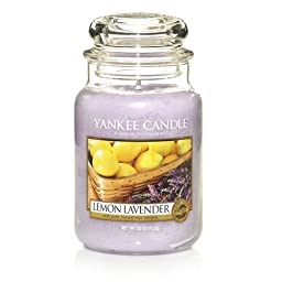 Yankee Candle Company Lemon Lavender Large Jar Candle