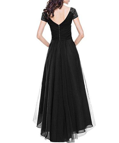SHOW Trapze DEMO Noir Robe Femme Xqwwd0z
