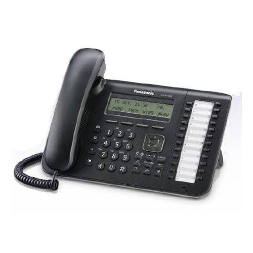 Panasonic KX-NT543 Black 3-Line Backlit LCD IP Phone w/24 (3 Line Backlit Lcd)