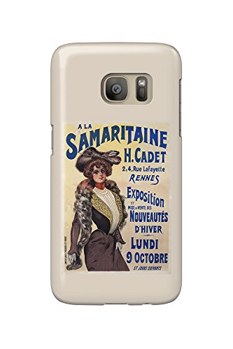 a-la-samaritaine-vintage-poster-france-galaxy-s7-cell-phone-case-slim-barely-there