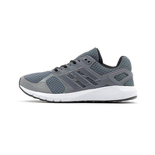 Adidas Duramo 8 M, Zapatillas de Running para Hombre, Gris (Onix/Grey Four/Core Black), 41 1/3 EU