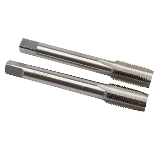 12mm X 1 Taper and Plug Tap M12 X 1mm Pitch by KMIAN TOOLS