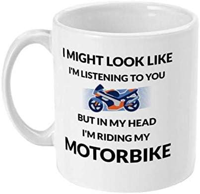 Taza de café divertida, regalo perfecto para motociclista, regalo para padres, novio, regalo para hijo, regalo para marido