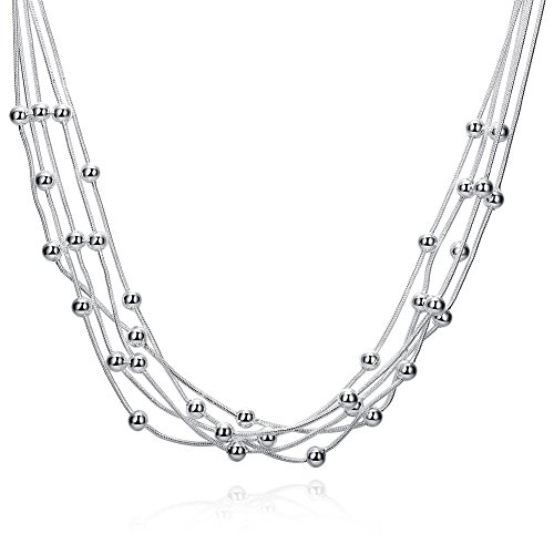 Boosic Beaded Adjustable Layered Necklaces