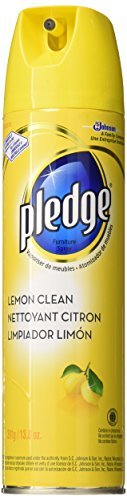 3 Pack 13.8 Oz Lemon Scent Pledge Furniture Polish