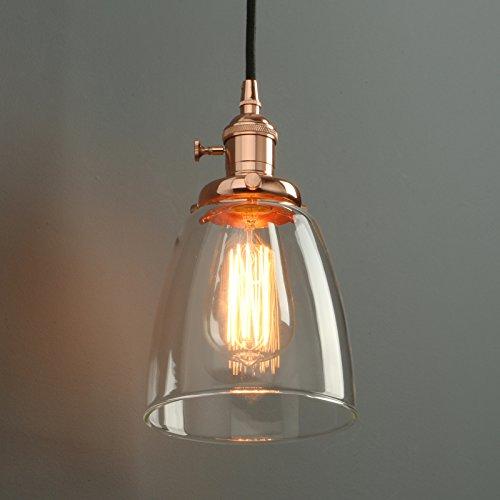Black And Copper Pendant Light