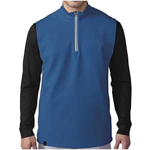 - adidas Golf Men's Climacool Competition Vest, EQT Blue S, Small