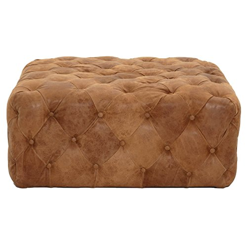 Brandy Ottoman, Chestnut by Orient Express Furniture
