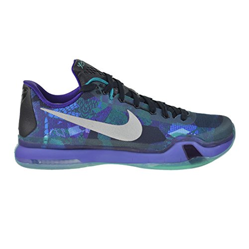 da Basket Scarpe Riflettente X cute Kobe Smeraldo Uomo Viola Argento Nike Lucentezza 4xqa1ZwZn