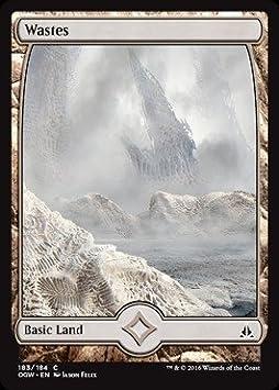 10x WASTES #184 Full Art Basic Land NM//LP MTG Magic the Gathering Oath Gatewatch