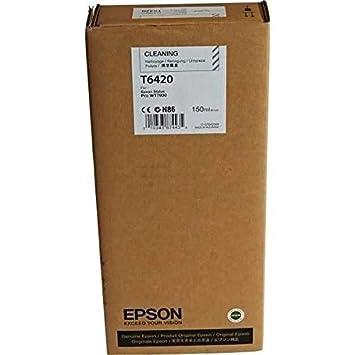Epson Cartucho de Limpieza T642000 - Limpiador de Impresora ...