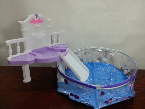 Rose Palace 2678 Water Fall Fantasy Pool Set by Rose, Gloria