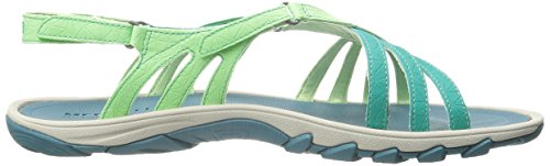 Mujer Sandalias bright Enoki Link Green Verde Green Merrell gqt78A8
