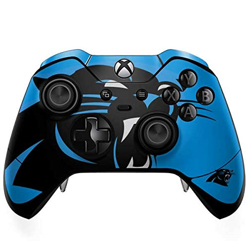 - Skinit Carolina Panthers Large Logo Xbox One Elite Controller Skin - Officially Licensed NFL Gaming Decal - Ultra Thin, Lightweight Vinyl Decal Protection