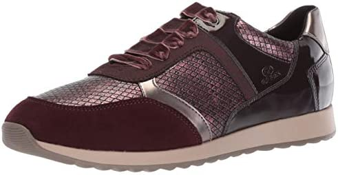 alias salvar borde  Geox Women's Deynna 6 Snake Print Fashion Sneaker, Dark Burgundy, 36 Medium  EU (6 US): Buy Online at Best Price in UAE - Amazon.ae
