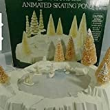 Department 56 Snowbabies Animated Skating Pond.