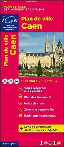 Lire en ligne 72542 PLAN DE CAEN  1/12.500 pdf