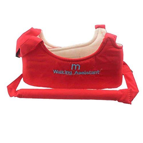 Sannysis Infant Baby Walker Learn Walking Assistant Trainer Safety Harness Belt (Red)